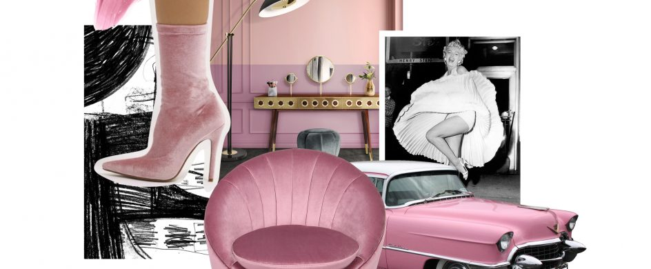 PANTONE COLORS INSPIRATIONS FOR MID-CENTURY FURNITURE