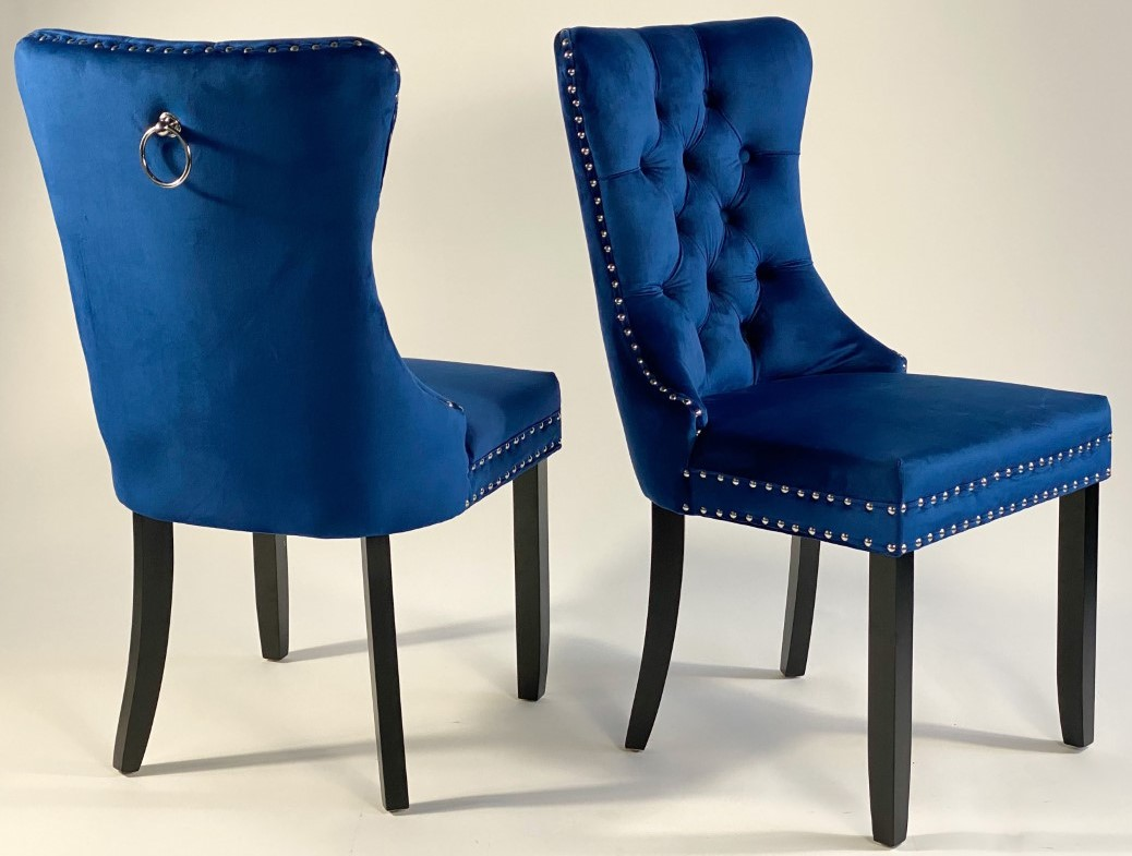 VELVET CHAIR (SET OF 2)